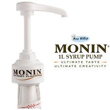 Monin Coffee Cocktail Syrup 10ML Pump Dispenser for 1 Litre Plastic Bottles