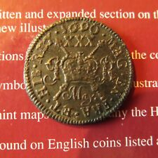More details for james ii irish gun money half crown may 1690. excellent example spink 6580b.