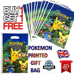 Carry Bags POKEMON PARTY BAGS For Baby Gifts Favours small Baby Toys