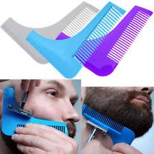Pettine modella rifinisce barba pizzetto basette strumento rasatura beard shaper