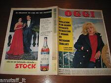 RIVISTA OGGI 1963/10=MONICA VITTI=VANIA PROTTI=MARK/NANI WILSON=ALAIN DELON=