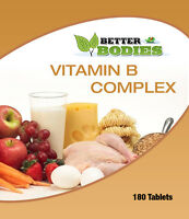 Vitamin B Complex Tablets Biotin Folic Acid B1,B2,B3,B5,B6,B12 Made In UK