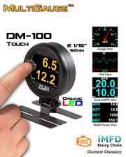 """Plx Devices DM-100 OBD II, 2  """"Touch"""" Multi-Gauge - FREE 2-DAY PRIORITY SHIPPING"""