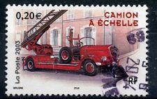 TIMBRE FRANCE OBLITERE N° 3611 CAMION DE POMPIERS / Photo non contractuelle