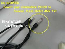Commodore VIC20 VIC-20 VIC 20 Television TV RF Video Cable Connector Switch Box
