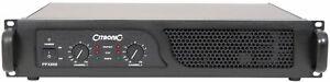 CITRONIC PPX900 power amplifier For dj`s bands school pubs clubs house