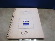 FIDIA CNC DATA TRANSFERS USERS MANUAL MDO290 ILV/A ILV/B1 V6.2