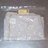 Longaberger Khaki Floral NEWSPAPER Basket Liner ~ Brand New in Original Bag!
