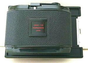 [Excellent+5] Horseman Roll Film Back Holder 6x7 10 EXP/ 120 Type 452 From Japan