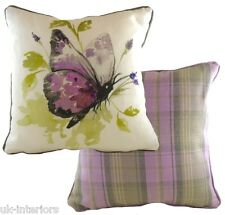 "17"" Country Butterfly Cushion Evans Lichfield DPA454 43cm Cotton / polyester"