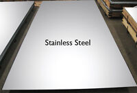 4mm stainless steel sheet 304 - FREE CUT TO SIZE CUSTOM profiles blanks squares
