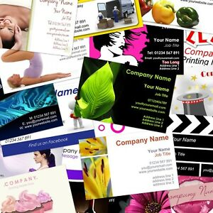 Business cards Personalised, wide range of FREE templates or upload your own