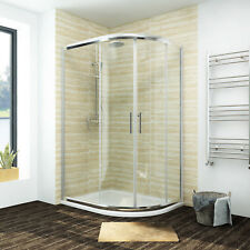 Offset Quadrant Shower Enclosure Corner Screen Cubicle Door FREE Next Day DEL