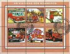 Timbres Pompiers Guinée Bissau 1031CD/J o année 2001 lot 11316