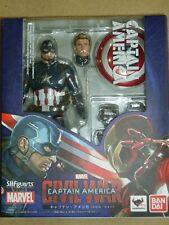 S.H. Figuarts Avengers Civil War Captain America Authentic USA Seller