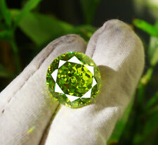 48.80Ct Natural Certified Top Green Spinel Perfect Round Shape Gemstone FG15