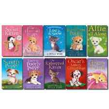 Holly Webb Animal Stories Puppy and Kitten Rescue Series 10 Books Set 21 to 30