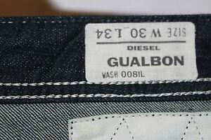 Authentic Diesel Mens GUALBON Jeans Comfort Fit 008IL BNWT Waist 30 L 34 RRP £90