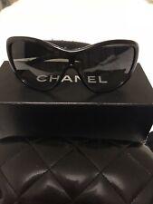 ba4ba40861 Authentic CHANEL Tweed 5242 14043c Sunglasses Black