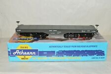HO scale Athearn DODX Dept of Defense military heavy duty flat car train w/ KD's