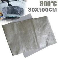 Pannello adesivo termico in fibra di vetro e alluminio per lo scarico 30cm x 100