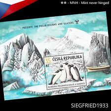 Czech Republic (2009) - Penguins - Preserve the Polar Regions - sheet **MNH