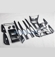 Carbon Fiber Car Interior Kit Cover Trim For Nissan Sentra Sylphy 2016 2017