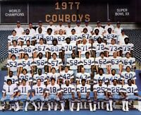 NFL 1977 Super Bowl Champs Dallas Cowboys Color Team Picture 8 X 10 Photo Pic