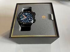 Huawei Watch GT 2 42 mm Boîtier en Acier Inoxydable Noir, Bracelet en...