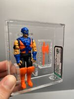 AFA U85 G I JOE 1993 Hasbro Red Ninjas 100% Loose Complete Great Color NM+ Rare