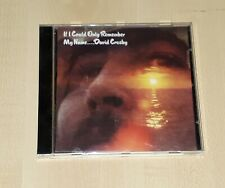 David Crosby - If I Could Only Remember My Name - CD - Atlantic - 7567-814152-2
