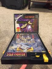 Starfighter Electronic Pinball Game Vintage Toy LCD 90s