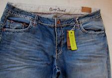 100% Camp David Herren Jeans; Denim CD Light Stone used ,Gr.: W38; L 32