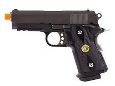 WE Baby Hi-Capa 3.8 Wave Airsoft Pistol Black Gas blowback pistol