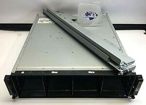 DELL EQUALLOGIC PS4000 E01J W/2x 0N789R CONTROL MODULE 2x 64362-04E PSU CHASSIS