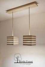 Hängelampe, Pendelleuchte, Deckenlampe, Lampe, Holz, Holzlampe, LED