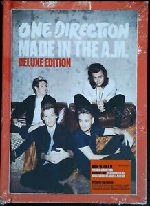 One Direction ‎– Made In The A.M. 88875157302 US CD Deluxe Edition SEALED
