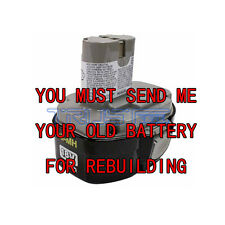 Rebuild service for Makita MAK193159-1 Pod-Style Battery 18-volt NI-MH  3.0