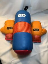 F.A.O. Schwarz Child's Boxing Gloves & Punching Bag