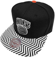 Mitchell & Ness NBA New York Knicks Zig Zag EU134 Snapback Cap Kappe Basecap New