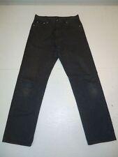 HUGO BOSS MONTANA Jeans Hose Dunkelgrau W35 L34 Orig- #03-7