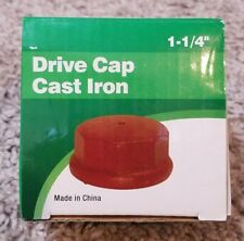 "DRIVE CAP CAST IRON 1-1/4"" PROPLUMBER 31.8MM PRO PLUMBER 53059 1 1/4"""