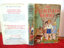 Enid Blyton THE ENCHANTED WOOD 1965 HCDJ illus Dorothy M Wheeler NEWNES scarce