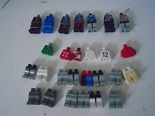 Lego Lot of 20 City Building Plate Partial Mini Figures Legs Bodies Police