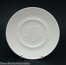 Villeroy & Boch Lucky-U Discontinued Pattern White Saucers Only 16cm Look in VGC