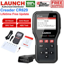 LAUNCH CR629 Auto OBD2 ABS SRS Diagnostic Bidirectional Scanner Car Code Reader