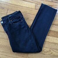 J.Crew Cropped Reid Dark Wash Denim Jeans Women's Size 28, size 6