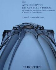 AUCTION CATALOG : ART DÉCORATIFS DU XXe SÈCLE & DESIGN (Decoeur,Ruhlmann,Adnet