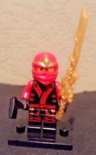 Lego Ninjago KAI Minifigure Elemental Robe Kimono KX with Dragon Sword of Fire