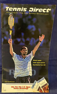 VTG Tennis Direct Catalog Andre Agassi Cover Summer 1995 Outdated